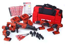 Hilti 03482678 18-Volt Cordless Combination Package, Include