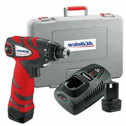 """ACDelco 1/4"""" Hex Drill/Driver Kit,12V 142 in-lbs with one ba"""