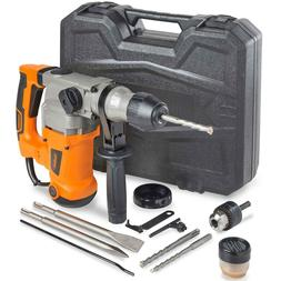 "VonHaus 10 Amp Heavy Duty 1-1/2"" SDS Rotary Hammer Drill wit"