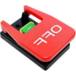 HQRP 110V Magnetic On/Off Paddle Switch for Table Saw, Route