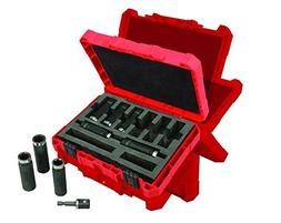 9-Piece 12 Thin Wall Deep Impact Socket Set