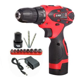 12V Lithium-Ion -HU16 Electric Combi Drill Variable Speed Dr