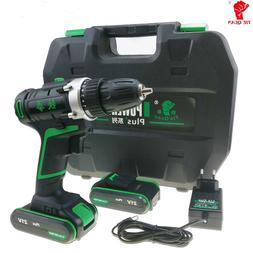 16/21/25V Cordless 2 Speed Power Impact Drill/Driver with Dr