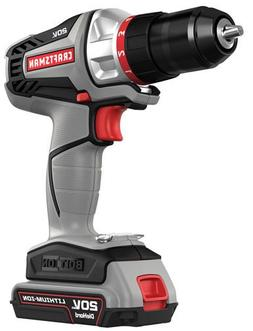 Craftsman -16496 - Bolt-On 20 Volt MAX Lithium Ion Drill/Dri