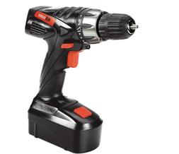 18 Volt 3/8 in Cordless Drill Driver Kit With Keyless Chuck