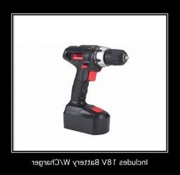 18 Volt Cordless 3/8 in. Drill/Driver with Keyless Chuck