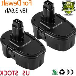 18V 3.6Ah Replace for Dewalt DC90962 XRP Ni-MH Battery DC909