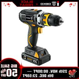 20V Lithium-Ion Cordless Drill/Driver 1/2-inch Chuck 2-Speed