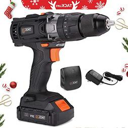 """20V MAX 1/2"""" Cordless Drill Driver Set with Hammer Function,"""