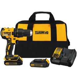 DEWALT DCD777C2 20V MAX Compact Brushless Drill/Driver with