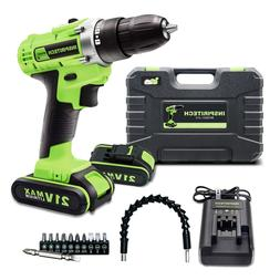 21-Volt drill 2 Speed Electric Cordless Drill/Driver with Bi