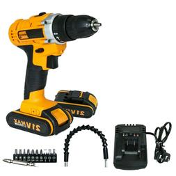 21 volt wireless drill 2 speed electric
