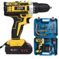 21V Electric Drill Cordless Electric Screwdriver Drill Set 3