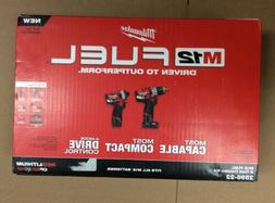 Milwaukee 2598-22 12V Fuel Brushless Hammer Drill and Impact