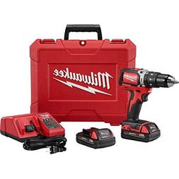 """Milwaukee 2702-22CT M18 18V 1/2"""" Compact Hammer Drill/Driver"""