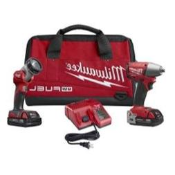 Milwaukee 2795-22CT M18 Fuel 3/8 Inch Impact Wrench Combo Ki