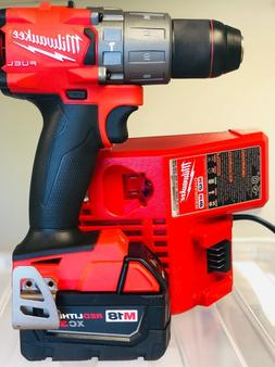 Milwaukee 2804-20 M18 FUEL 18V 1/2in Hammer Drill/Driver +