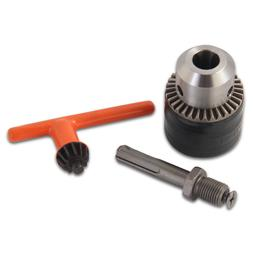 """KSEIBI 291113 1/2"""" Drill Chuck with SDS Plus Adapter and Gri"""