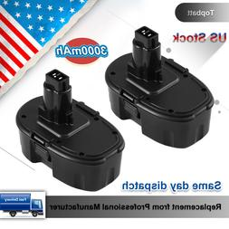 2X 18V 3.0 Replace Battery for Dewalt DC9096 DC9099 DC9098 D