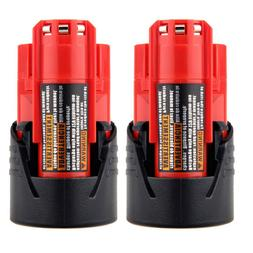 2X 12V Lithium Battery For Milwaukee 48-11-2401 M12 Fuel Imp