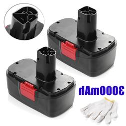 2x 19.2V 3000mAh DieHard Compact Ni-MH Battery For Craftsman