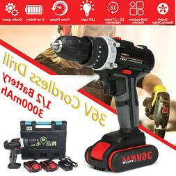 36v 1 2 3in1 electric cordless drill