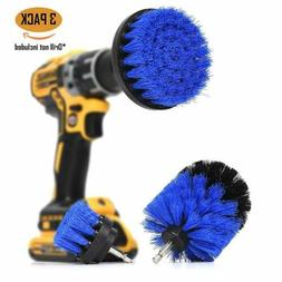 3Pcs/Set Tile Grout Power Scrubber Cleaning Drill Brush Tub