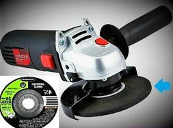 """4-1/2"""" DRILL MASTER ANGLE GRINDER 1-24 GRIT GRINDING WHEEL W"""