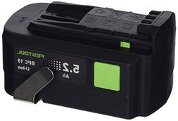 Festool 18V 5.2Ah Li-ION 500531 Battery for T18/TSC/Carvex