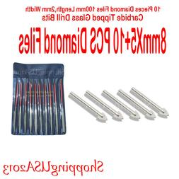 5 X 8mm Carbide Tip Drill Bits tool hole saw Alloy Glass and