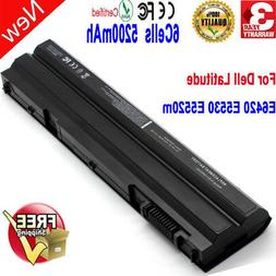 5200mAh Replacement Laptop Battery For Dell Latitude E6420 M
