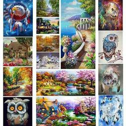 5D Fairy Tail Full Drill DIY Art Diamond Painting Embroidery