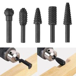 5PCS 1/4'' Drill Bit Set Cutting Tools for Woodworking Knife