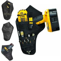 600D Oxford Cloth Heavy Duty Cordless Drill Holster Tool Bel