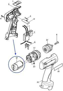 629815-2 Makita NEW Replacement Motor for 6260DWPE 9V Cordle