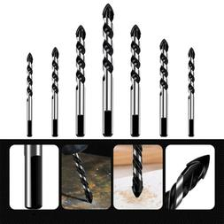 7pcs Tungsten Carbide Drill Bit Set for Ceramic Tile Concret