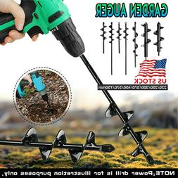 Multiple-sizes Planting Auger Spiral Hole Drill Bit Garden Y