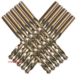 1/8 Inch M35 Cobalt Drill Bit for Metal, Aluminum, Stainless