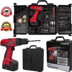 89 Pieces Power Tools Set 18 Volt Cordless Drill With Polish