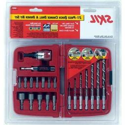 SKIL 90921 Quick Change 21 Piece Drilling and Driving Set in