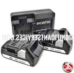 Hitachi UC18YKSL 14.4 18V Battery Charger &  BSL1815S Li-Ion