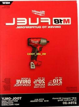 """Milwaukee 2754-20 - M18 FUEL 3/8"""" Compact Impact Wrench w/ F"""