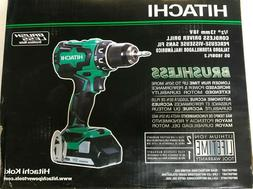 "NEW - Hitachi DS18DBFL2 18V Li-Ion 1/2"" Brushless Cordless D"