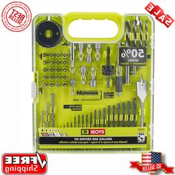 Ryobi A98601 60 Piece Black Oxide Drilling and Driving Bit S