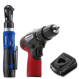 "ACDelco G12 3/8"" Ratchet Wrench & Drill Driver Combo Kit ARW"
