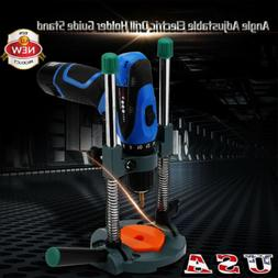 Adjustable Angle  Electric Drill Holder Guide Stand Position