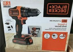 Black & Decker BDCI20C 20V MAX Cordless Lithium-Ion Impact D