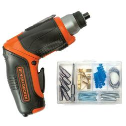 Black & Decker BDCS40BI 4V MAX Cordless Lithium-Ion Pivoting