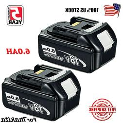 Makita BL1830Bx2 3.0 Ah Batteries With Battery Gauge and OEM