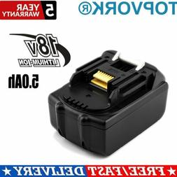 For Makita BL1850 18V 5Ah Li-Ion Battery BL1815 BL1830 BL184
